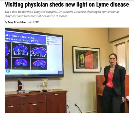 Visiting physician sheds new light on Lyme disease